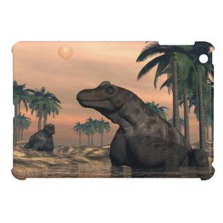 Keratocephalus dinosaurs - 3D render iPad Mini Covers
