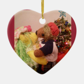 Ker'D and Buttercup Christmas Ornament