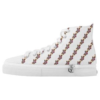 Ker'D High Tops Printed Shoes