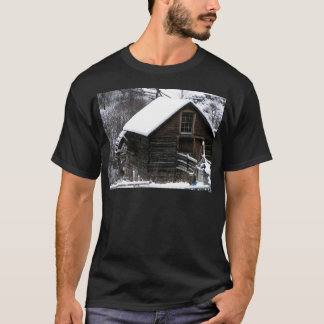 Keremeos Grist Mill in Winter T-Shirt