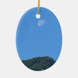 Keremeos Moon Ceramic Ornament