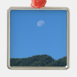 Keremeos Moon Metal Ornament