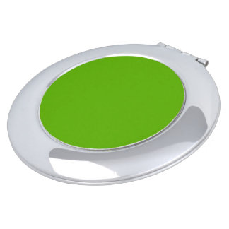 Kermit Green colored Travel Mirrors