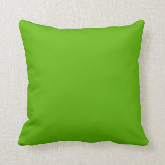 Kermit Green colored Throw Pillow