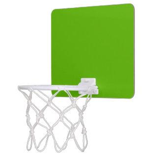 Kermit Green colored Mini Basketball Hoop