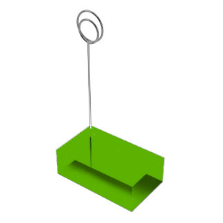 Kermit Green colored Table Card Holders