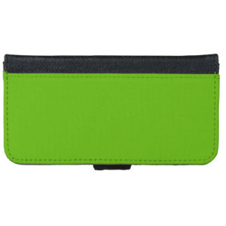 Kermit Green colored iPhone 6 Wallet Case