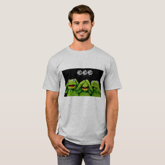 kermit hear/speak/see no evil T-Shirt