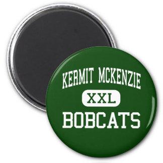 Kermit McKenzie - Bobcats - Junior - Guadalupe Refrigerator Magnet