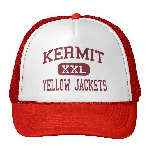 Kermit - Yellow Jackets - High - Kermit Texas Mesh Hats