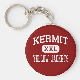 Kermit - Yellow Jackets - High - Kermit Texas Keychains
