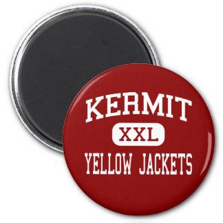 Kermit - Yellow Jackets - High - Kermit Texas Magnets