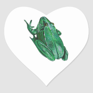 Kermit's Adenture Heart Sticker