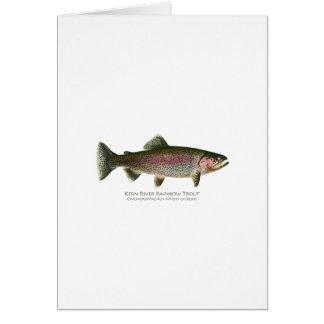 Kern River Rainbow Trout Card
