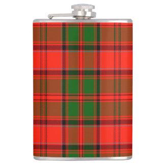 Kern Scottish Tartan Hip Flask