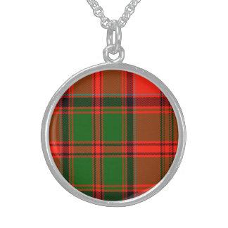 Kern Scottish Tartan Sterling Silver Necklaces