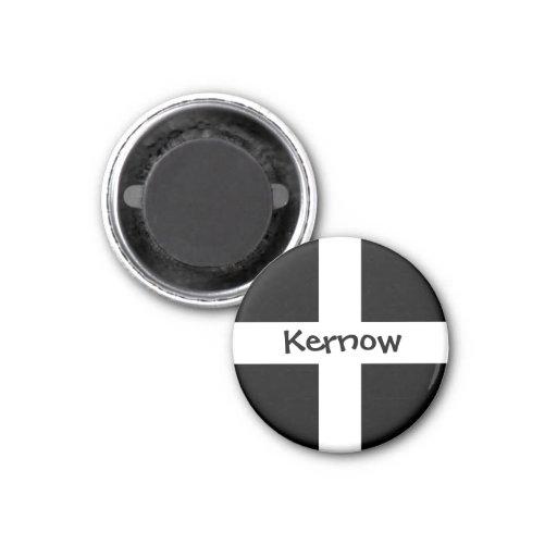 Kernow - Cornwall Refrigerator Magnet