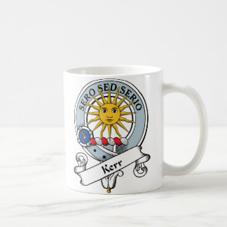 Kerr Clan Badge Coffee Mug