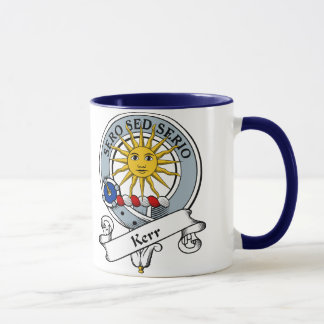 Kerr Clan Badge Mug