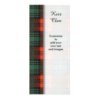 Kerr clan Plaid Scottish tartan