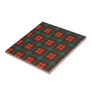 Kerr Scottish Tartan Ceramic Tile