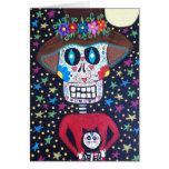 Kerri Ambrosino Art Card Day of The Dead