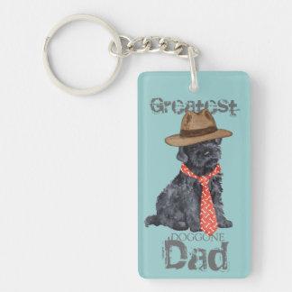 Kerry Blue Dad Key Ring