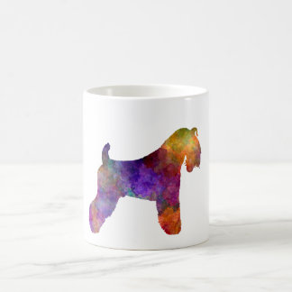 kerry Blue Terrier 01 in watercolor Coffee Mug