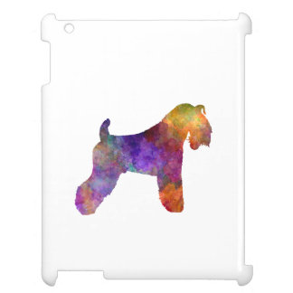 kerry Blue Terrier 01 in watercolor iPad Cover