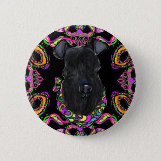 Kerry Blue Terrier 6 Cm Round Badge