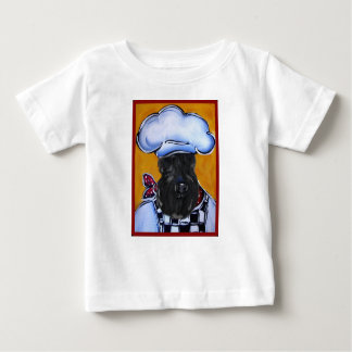Kerry Blue Terrier Chef Baby T-Shirt