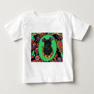 Kerry Blue Terrier Cinco de Mayo Baby T-Shirt