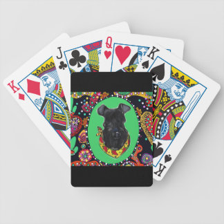 Kerry Blue Terrier Cinco de Mayo Bicycle Playing Cards
