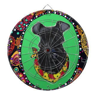 Kerry Blue Terrier Cinco de Mayo Dartboard