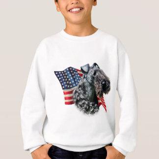 Kerry Blue Terrier Flag Sweatshirt