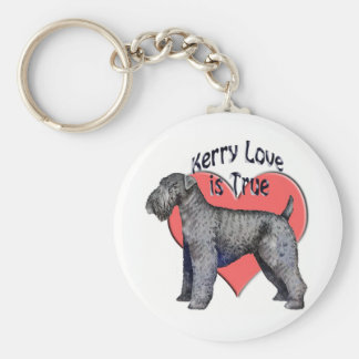 Kerry_Blue_Terrier_love Key Ring