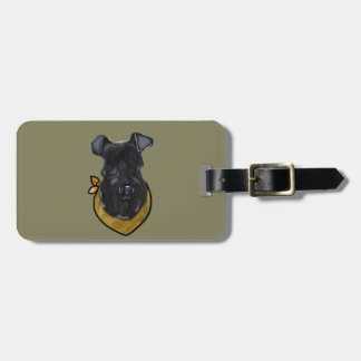 Kerry Blue Terrier Luggage Tag