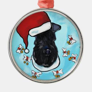 Kerry Blue Terrier Metal Ornament