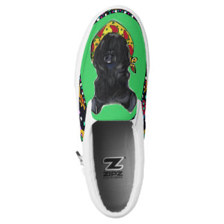 Kerry Blue Terrier Slip-On Shoes