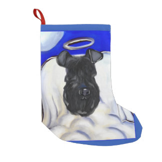 Kerry Blue Terrier Small Christmas Stocking