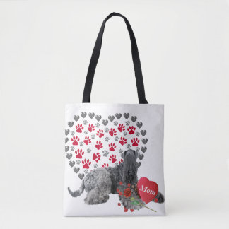 Kerry Blue Valentine For Mom Tote Bags