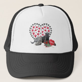 Kerry Blue Valentine For Mom Trucker Hat
