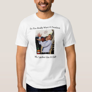 Kerry Catches Like A Girl T Shirt