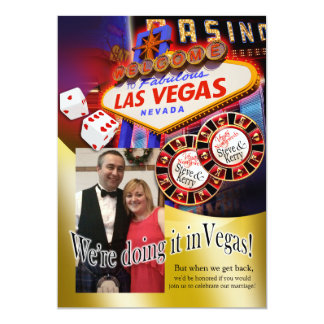 Kerry Vegas Reception (contact me 2 personalize) Card