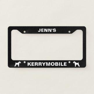 Kerrymobile Kerry Blue Terrier Custom Licence Plate Frame