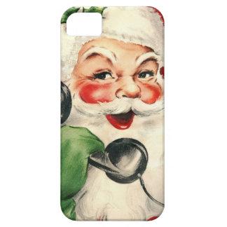Kerstman bij de Telefoon iPhone 5 Cover