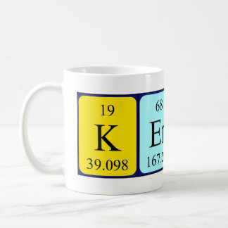 Keryn periodic table name mug