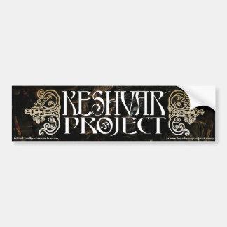 Keshvar Project Bumpersticker Car Bumper Sticker