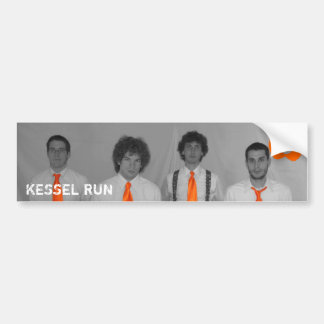 Kessel Run Sticker Bumper Sticker