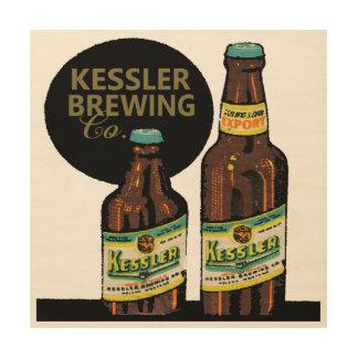 Kessler Export Beer Wood Wall Art